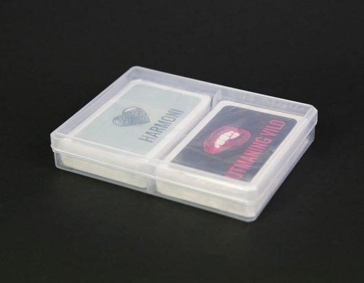 Förpackningar - Plastbox för två kortlekar