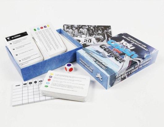 Indpakninger - Hockeyspel öppen ask