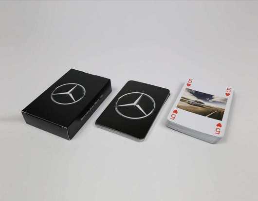 Kortspil med dit eget tryk - Mercedez