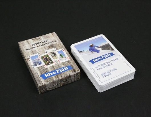 Kortspil med dit eget tryk - Idre Fjäll