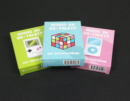Kortspil med dit eget tryk - Tre stycken askar