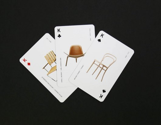 Kortspil med dit eget tryk - Tre kort