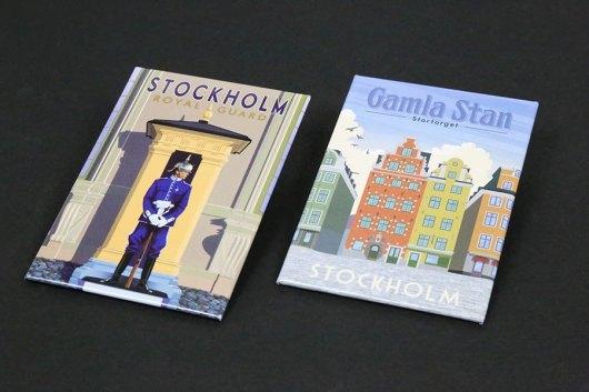 Magneter med egen design - Stockholm
