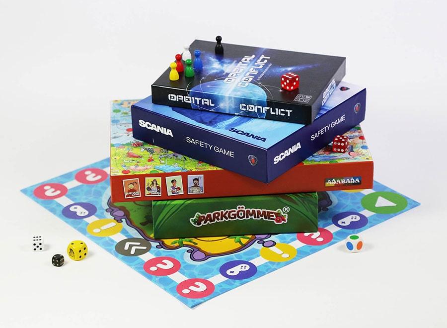 Brädspel med egen design