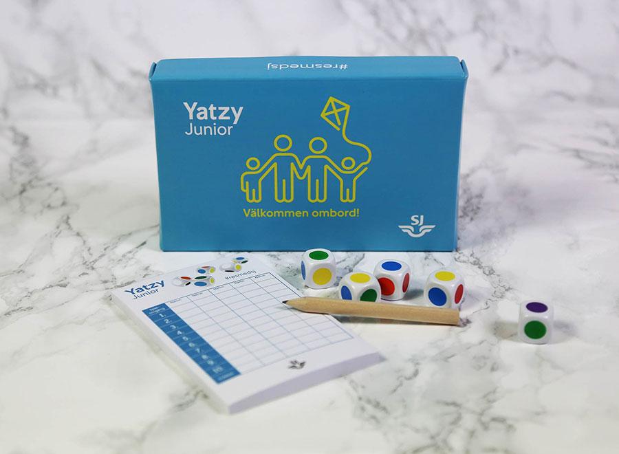 Yatzy med egen design